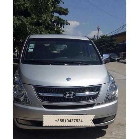 Hyundai Grand Starex for rent in cambodia - 5/5