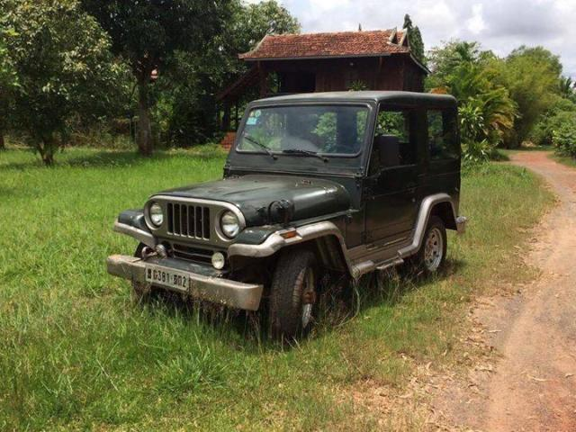 Vintage 4wd jeep for sale in Kampot - 3/3