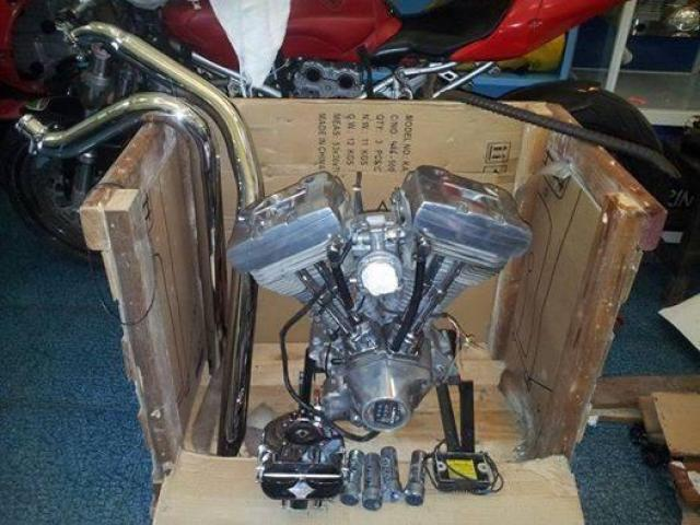 Harley Davidson 82 cubic inches motor for sale - 1/1