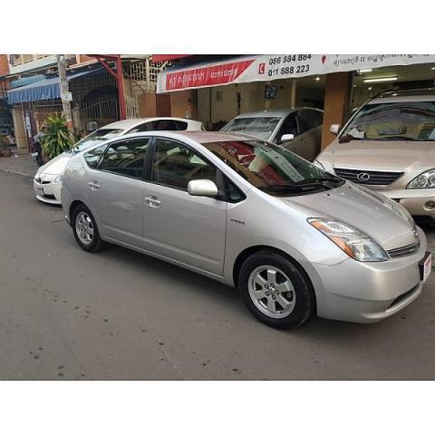 second hand Toyota Prius 2006 silver for sale - 3/8