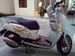 silver honda scoopy for sale in cambodia