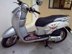silver honda scoopy for sale in cambodia