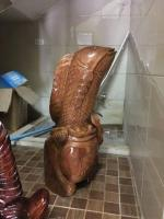 new wooden fish statue for home decoration - Image 7/10