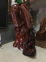 new wooden fish statue for home decoration - Image 9/10