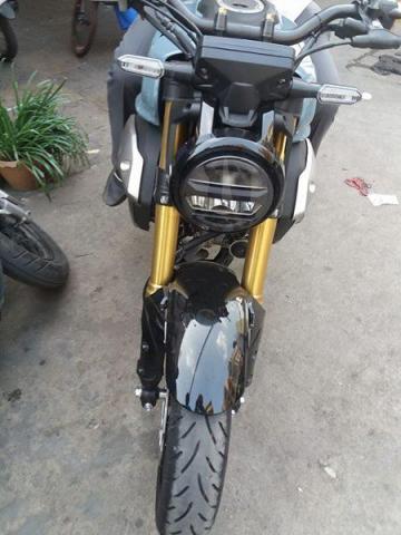 Sell honda CB 150 cc blue - 1/4