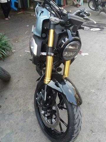 Sell honda CB 150 cc blue - 4/4
