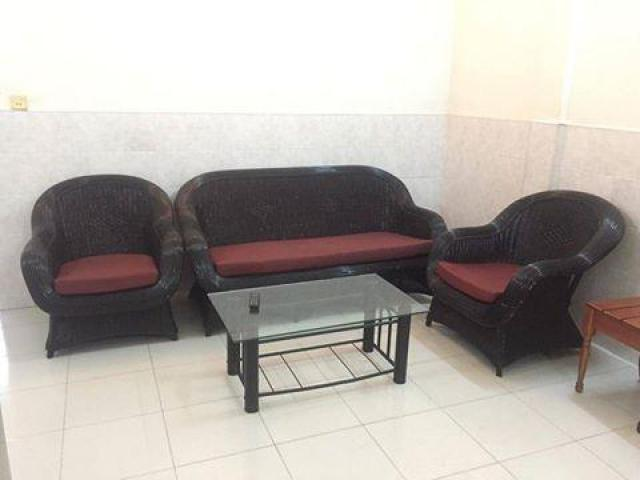 Furnished 1BR Apartment:$250/month near Royal Palace for rent free wifi,cable TV $250 - 1/1