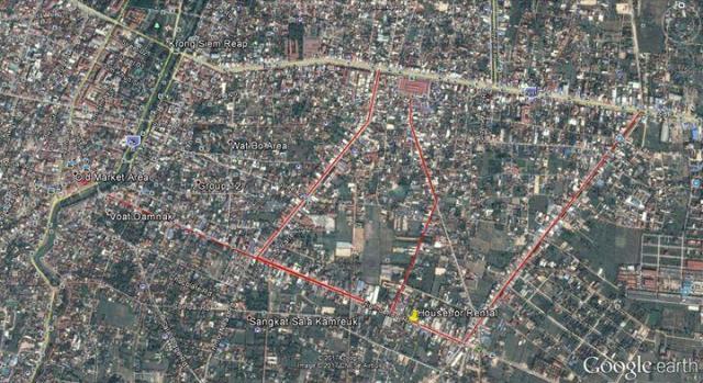 Shopping House for Rent - 7 Makara Road, Siem Reap City - 1/1