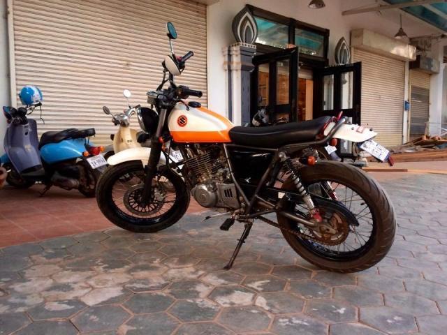 URGENT: Café Racer - Grass Tracker 250cc from Japan - 3/4
