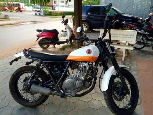 URGENT: Café Racer - Grass Tracker 250cc from Japan - 4/4