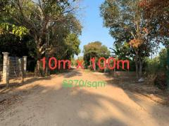 land for sale in Prek Eng Phnom Penh at 350$ per square meter