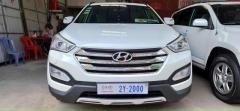 លក់ប្រញាប់លុយ 6ម៉ឺនKm ប្រើសាំងV-4 2013 Hyundai Santa Fe ទិញពីក្រុមហ៊ុន ប្រើប្រព័ន្ធទំនើប-កៅអី3ជួរ Sa