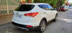 Urgent 6ម៉ឺនKm ប្រើសាំងV-4 2013 Hyundai Santa Fe ទិញពីក្រុមហ៊ុន ប្រើប្រព័ន្ធទំនើប-កៅអី3ជួរ Sa