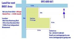 Land for rent BKK1 Area