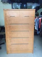 Vintage Japanese wooden cabinet for Sale