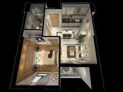 Nice Urgent condo for sale (5th floor: 60m2)