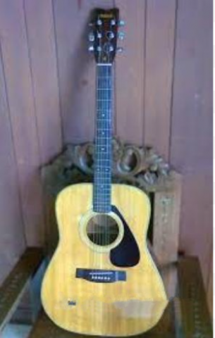Used Yamaha FG Acoustic Guitar  - 1/2