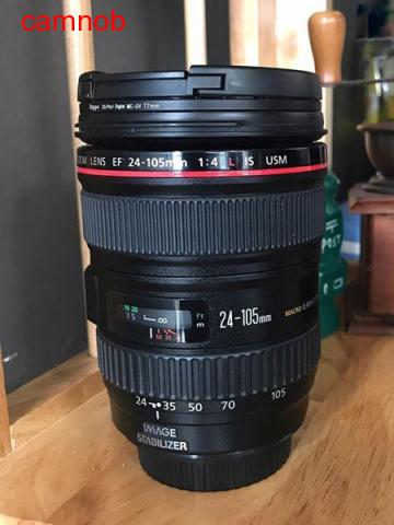 Used Canon lens 24-105mm for Sale - 1/4