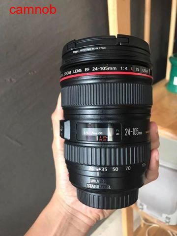 Used Canon lens 24-105mm for Sale - 2/4