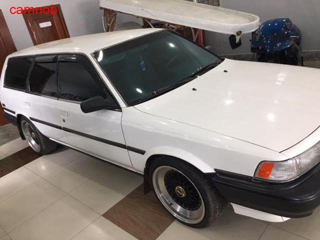 Used white vintage toyota camry wagon for sale in Kampongsom - 3/11