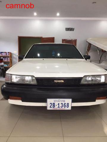 Used white vintage toyota camry wagon for sale in Kampongsom - 7/11