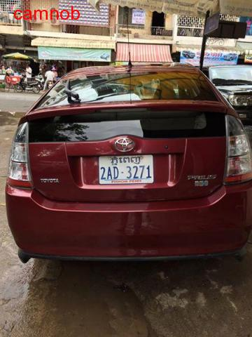 cheap red toyota prius 2005 for sale - 3/4