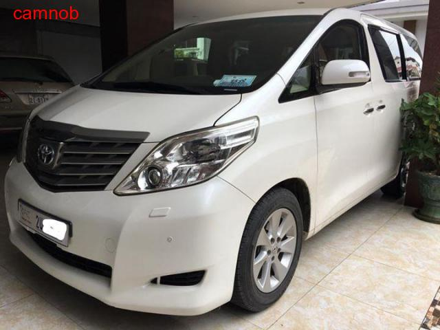 Amost new Toyota Alphard 2011 for sale - 5/6