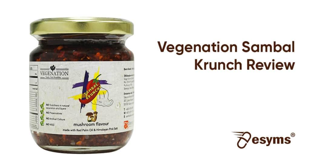 vegenation sambal krunchy review