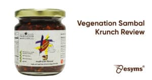vegenation sambal krunchy review