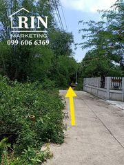 R017-016 ขายด่วน ขายที่ดิน องครักษ์ ใจกลางเมือง 1-2-20 ไร่ เข้าซอยได้2ซอย ขายถูกมาก ๆ
