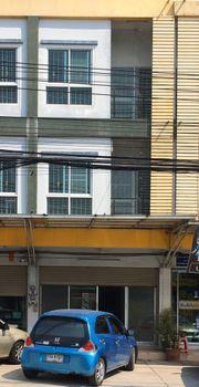 ให้เช่าอาคารพาณิชย์ 3 ชั้น ทำเลดี ถนนมิตรสัมพันธ์ อ่างศิลา ชลบุรี