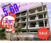 ลดโหด! ขายอาคารพาณิชย์ 4 ชั้นเต็ม ติดถนน ถูกมาก! ซอยวัดพระเงิน-บางใหญ่ นนทบุรี