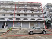 ขาย อาคารพาณิชย์ 4 ชั้นครึ่ง 4 คูหา หลังมุม 102 ตรว. ไทรอัมพ์เซ็นเตอร์ ถ.เทพารักษ์ กม.12
