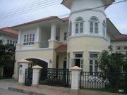 ให้เช่า บ้านเดี่ยว 2 ชั้น ขนาด 64 ตารางวา หมู่บ้านภัสสร 4 รังสิต คลอง 3