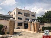 ขายอาคารสำนักงาน+โกดัง+ที่พักอาศัย ซอยเปาอินทร์8 ปากเกร็ด นนทบุรี พื้นที่342ตรว. เหมาะสำหรับเป็นอาคารสำนักงาน ติดถนนวงแหวนฝั่งตะวันตก