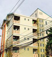 ขายอพาร์ทเม้นท์ 5 ชั้น 37 ห้อง ซอยรัชดา 36 ย่านมหาลัยจันทรเกษม ผู้เช่าเต็ม