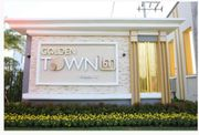 U1010 ให้เช่าทาวน์โฮม 2 ชั้น หมู่บ้านโกลเด้นทาวน์ พระราม 2 Golden Town Rama 2 ซ.วัดพันท้ายนรสิงห์ ใกล้ห้างตลาดสด และ สถานที่สำคัญอีกมากมาย