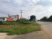 ขายที่ดินเปล่าแปลงสวย 100 ตร-ว. ติดถนนใหญ่ทางหลวง ทำเลดี เดินทางสะดวก ในอำเภอสันกำแพง เชียงใหม่