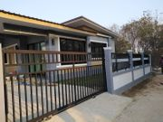 ขายบ้านใหม่พร้อมที่ดิน 50 ตารางวาพื้นที่ใช้สอย 120 ตารางเมตร จ.พิษณุโลก
