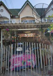 ขายทาวน์เฮ้าส์2ชั้น หมู่บ้านตะวันนา ซอยจตุโชติ 12 แขวงออเงิน เขตสายไหม