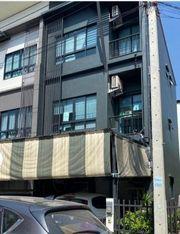 ให้เช่า ทาวน์โฮม 3 ชั้น หลังมุม Casa City คาซ่า ซิตี้ วงแหวน-ลำลูกกา ถ.ลำลูกกา