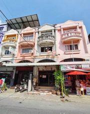 DD00266 ขายอาคารพาณิชย์หมู่บ้านบัวทอง2 ถนนเมนทำเลดีสามารถเปิดร้านขายของได้ หน้าบ้านหันทางทิศเหนือ