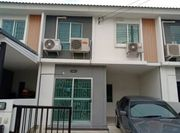 ให้เช่าทาวเฮาส์ Baan Pruksa 116 Rangsit-Thanyaburi จำนวน 2 ชั้น 3ห้องนอน 2ห้องน้ำ