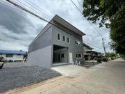 BR 1185  ให้เช่า ขายอาคารเปล่า2ชั้นสร้างใหม่ ลำลูกกา ปทุมธานี
