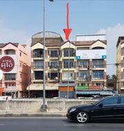 NS093 ให้เช่า และขาย อาคาร 4ชั้น มีดาดฟ้า ติดถนนราชพฤกษ์ค้าขายได้ บางกรวย