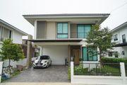 ขาย บ้านเดี่ยว ภัทรีดา อเวนิว รังสิต-คลอง 2 ขนาด 2 ชั้น 64.5 ตร.วา 3 ห้องนอน 3 ห้องน้ำ ตกแต่งสวนสวย ต่อเติม Glass House หลังบ้าน