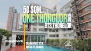 One Thonglor Condo 50 sqm. Sukhumvit 40 for Rent/Sale BTS Thonglor