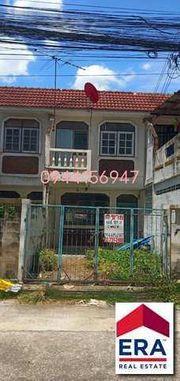 ขายทาวน์เฮ้าส์ 2 ชั้น 18 ตรว. หมู่บ้านโสสุนคร2 ซอยงามวงศ์วาน47แยก12(ชินเขต2) ใกล้ ม.ธุรกิจบัณฑิตย์