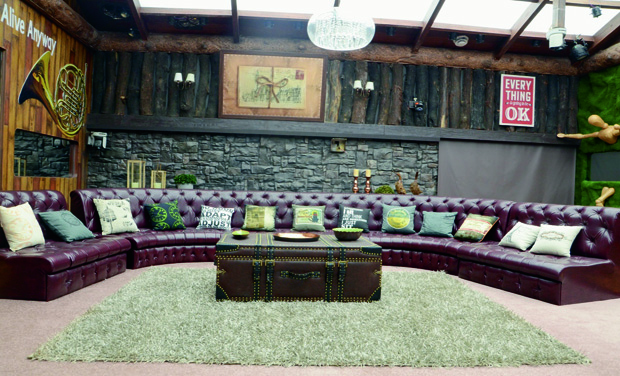 A room inside the Bigg Boss house