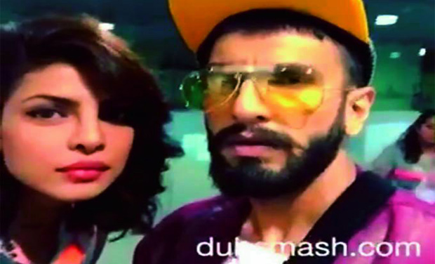 Happening Dubbers Priyanka Chopra And Ranveer Singh Dubsmash To Some Dialogues From Their Film